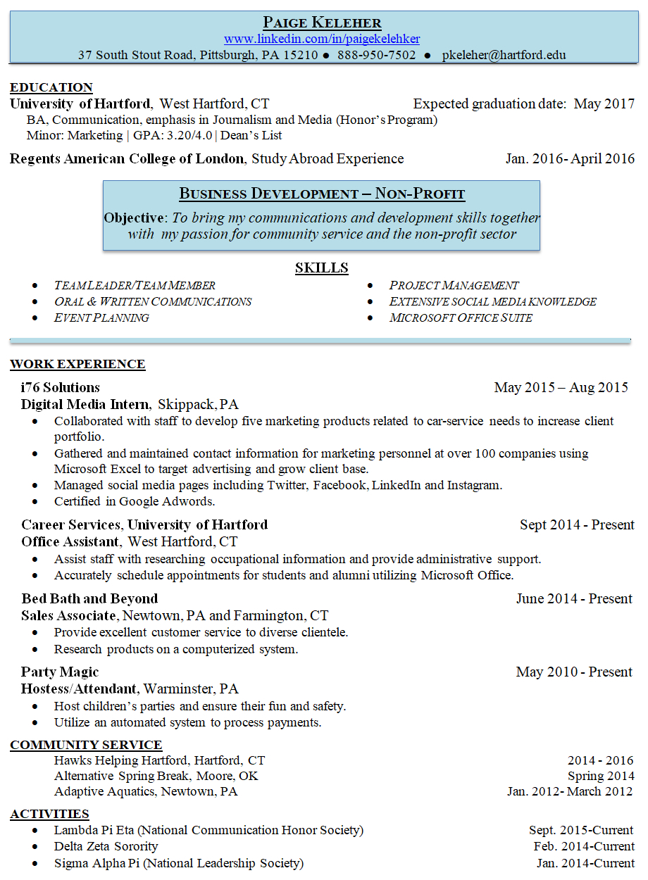 Entry Level Resume Writing Services The Professor Of Resumes